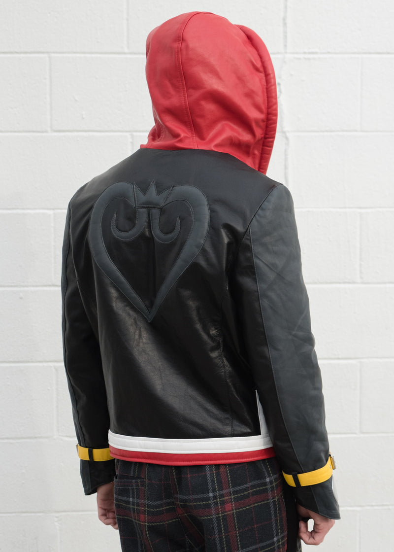Mens Kingdom Hearts Leather Jacket