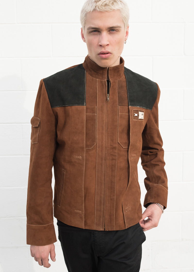 Mens Star Wars Han Solo Leather Jacket