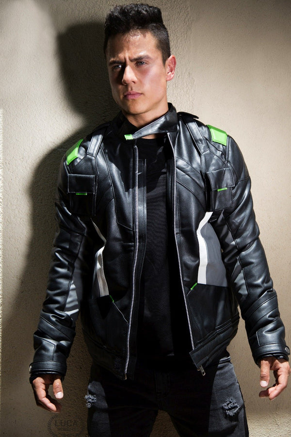 Mens Outlaws Soldier 76 Jacket Green