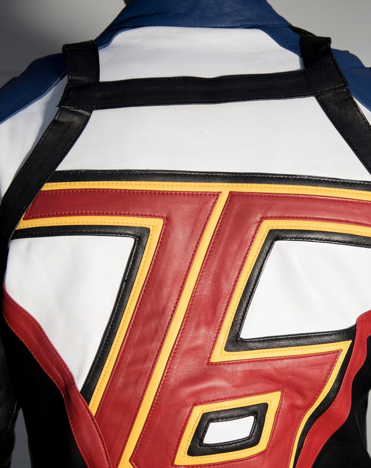 Soldier 76 Leather Straps Vest For Jacket