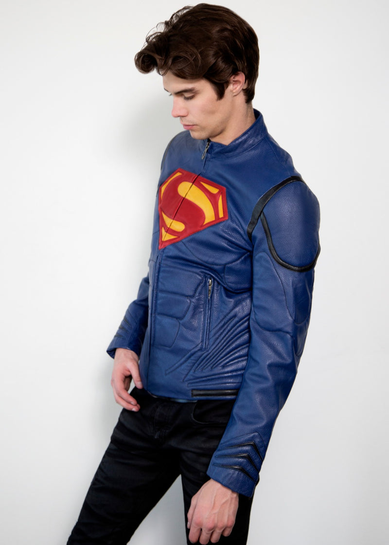 Superman Clark Kent Leather Jacket