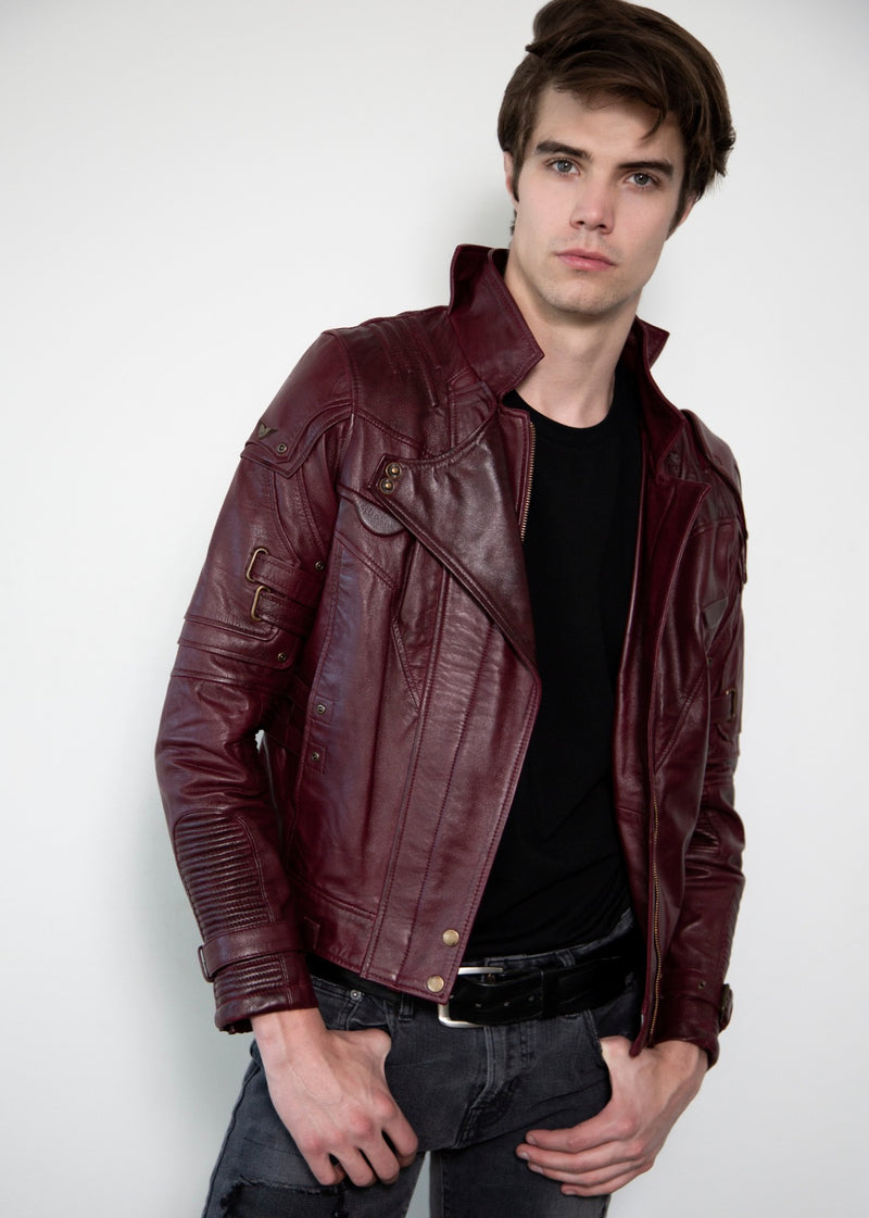 Star Lord Guardians of the Galaxy Leather Jacket