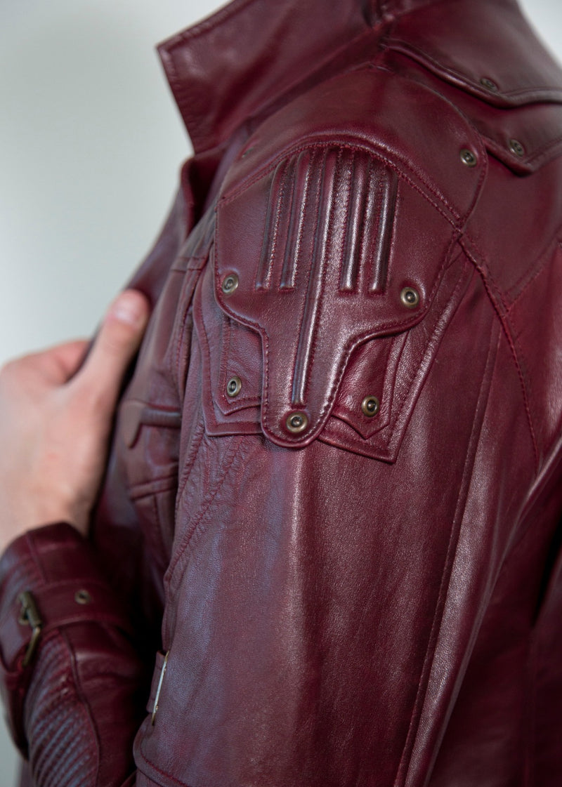 Star Lord Leather Jacket Details