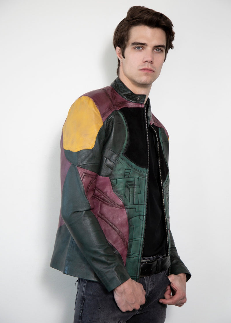 Boba Fett Mandalorian Armor Leather Jacket