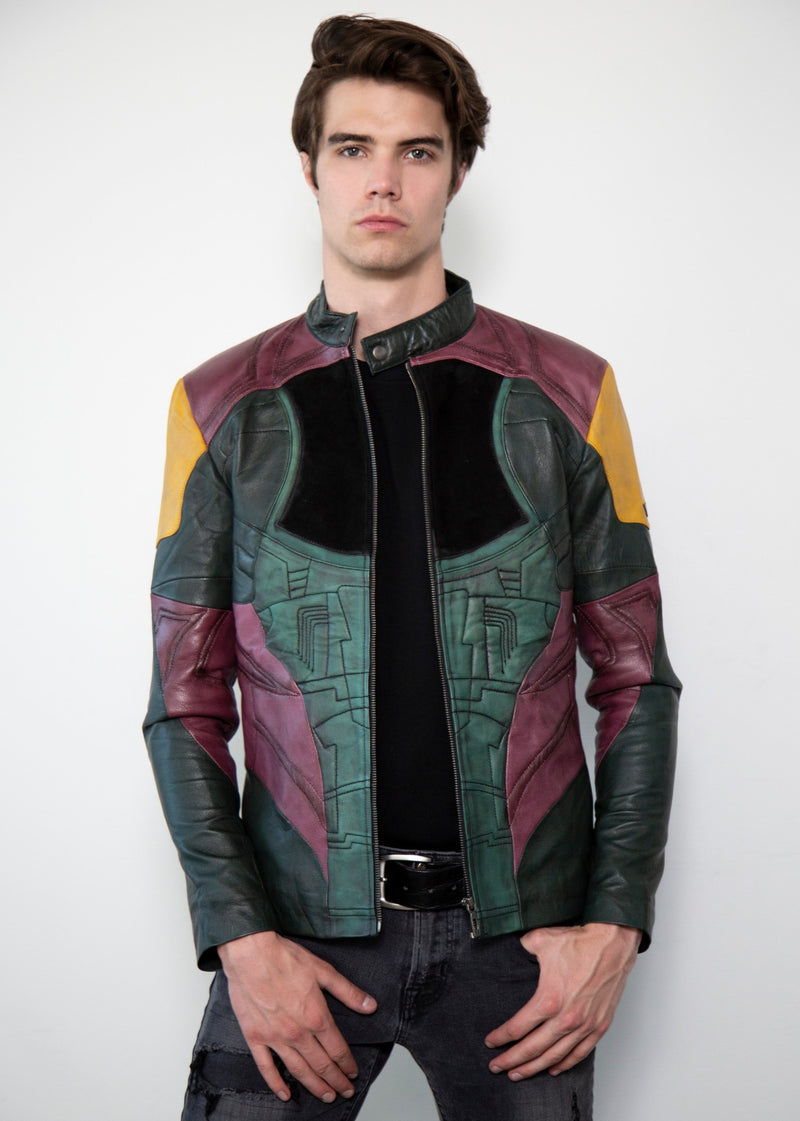 Star Wars Boba Fett Leather Jacket Mandalorian