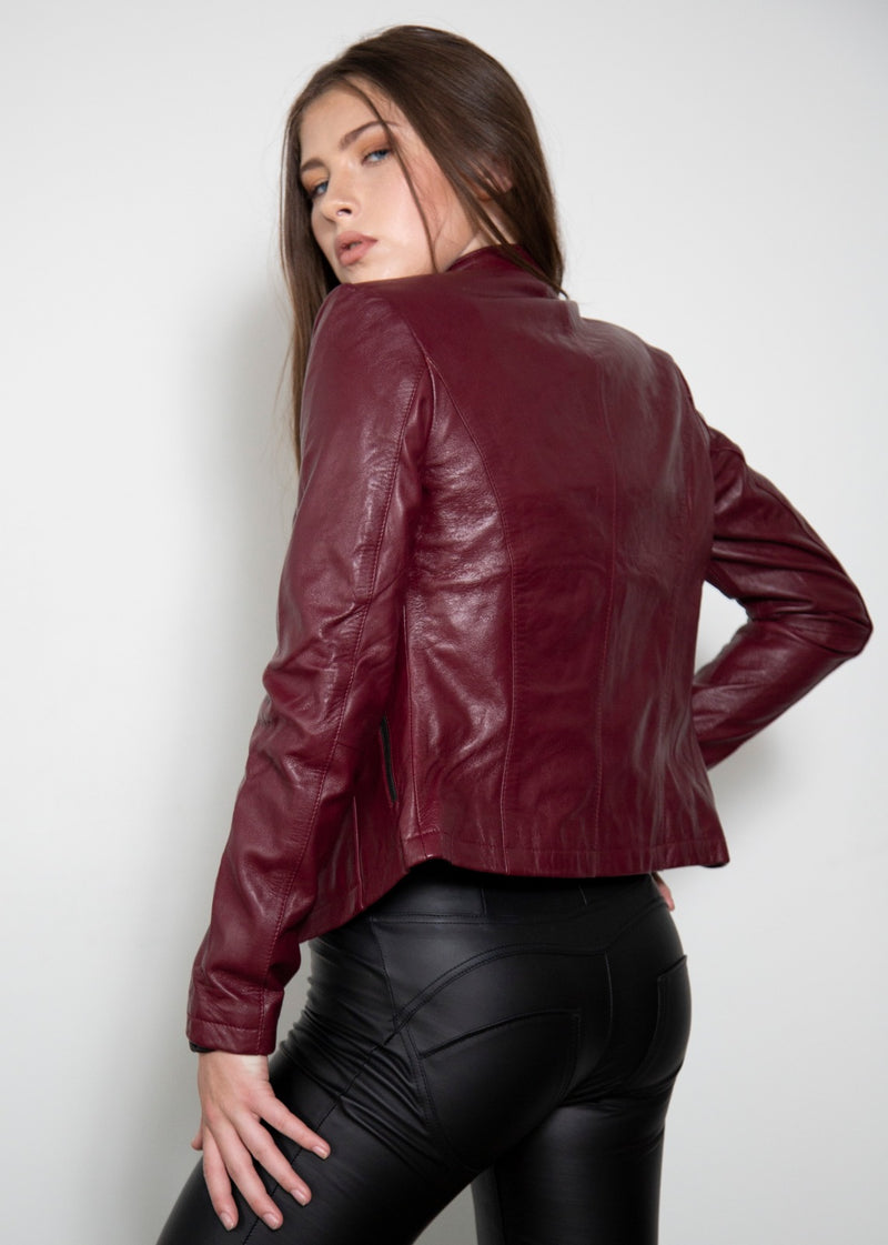 Claire Redfield Moto Leather Jacket Resident Evil