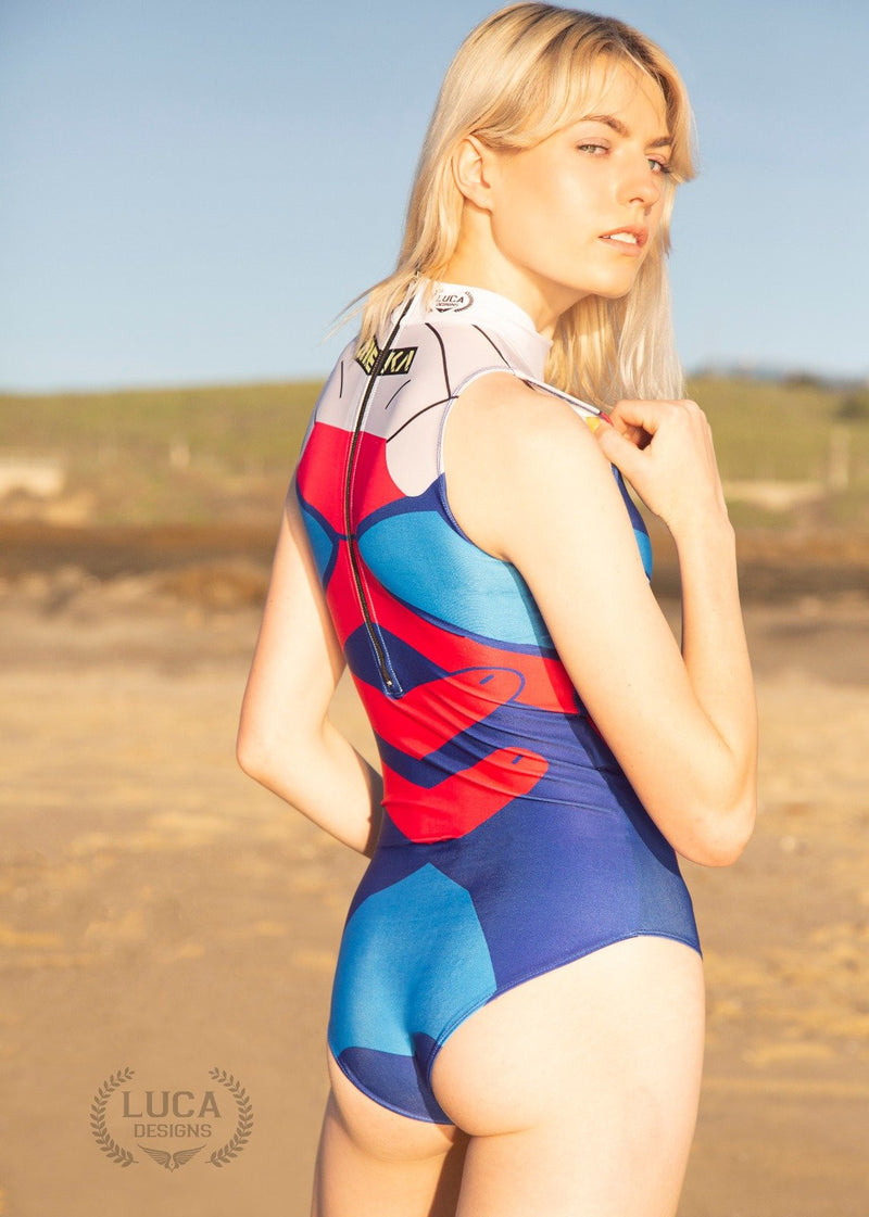 Womens Dva One Piece Bathing Suit