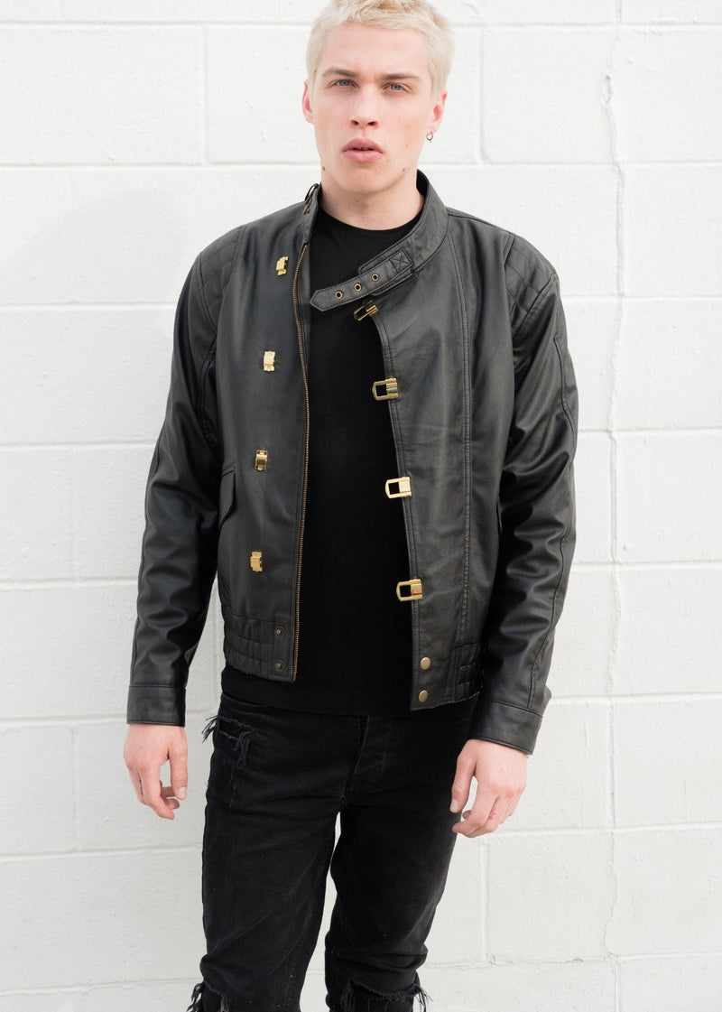 Mens Akira Kaneda Black Leather Jacket How to Wear a Leather Jacket