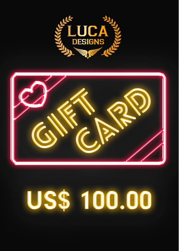 Luca Designs Gift Card US$100.00