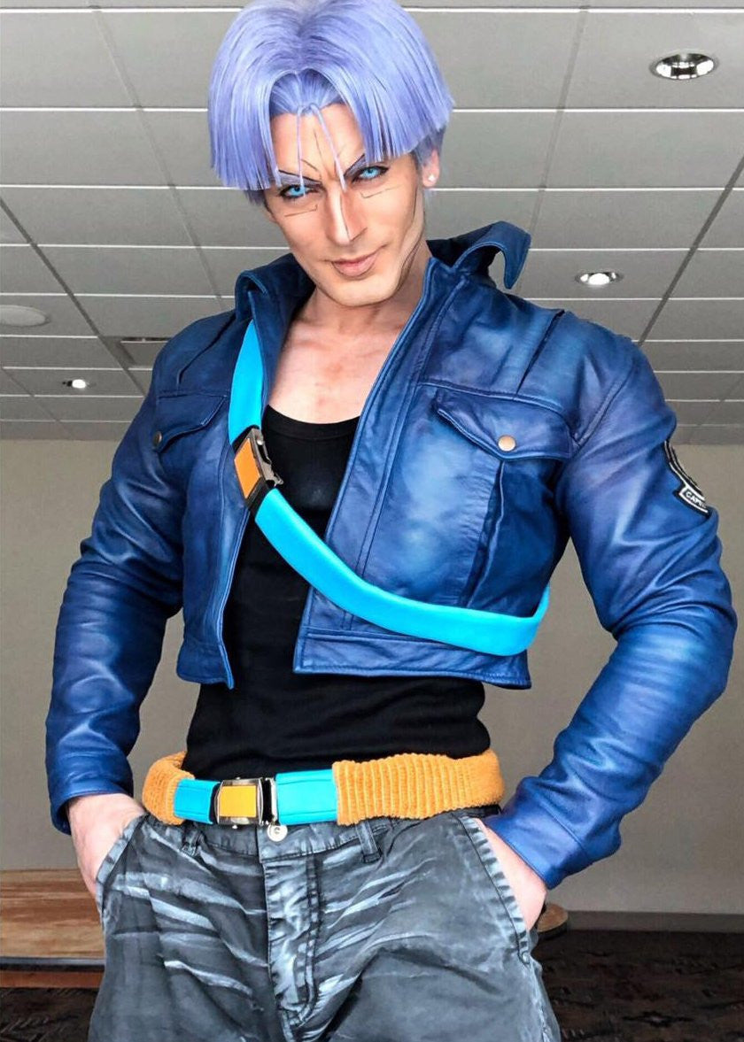 Buy Capsule Corp Dragon Ball Z Trunks Leather Jacket Leon Chiro Luca Designs Giorgio