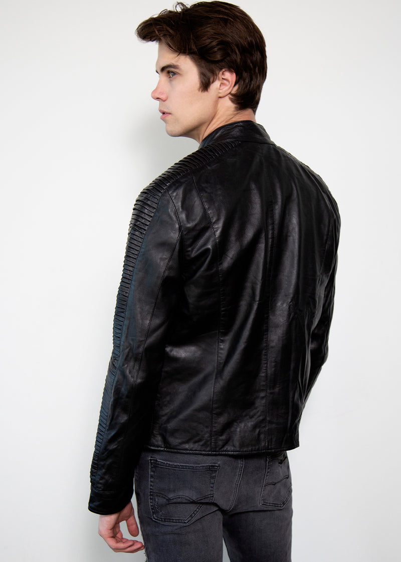 Rebel Pilot X-Wing Black Leather Jacket