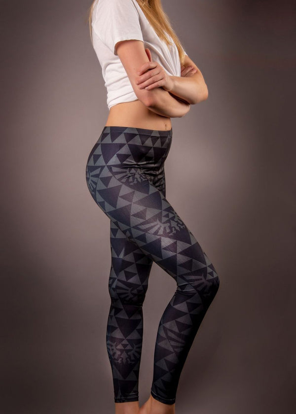 Womens Zelda triforce triangle Leggings