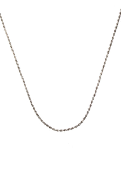 The Long Rope Chain Silver