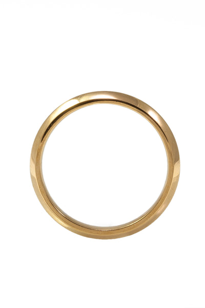 The Knife Edge Ring Gold