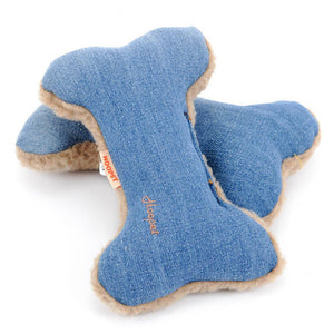 Blue Bone Chew Toy