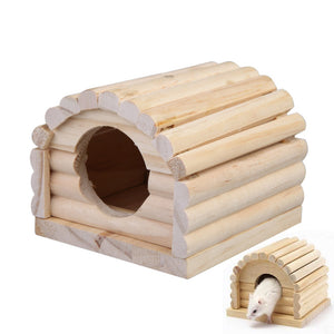 Small Animal Wooden Nest