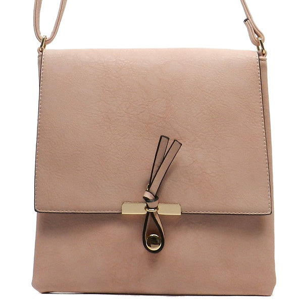 Fashion Cross Body Bag [LR030-L/PINK]