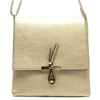 Fashion Cross Body Bag [LR030-GOLD]