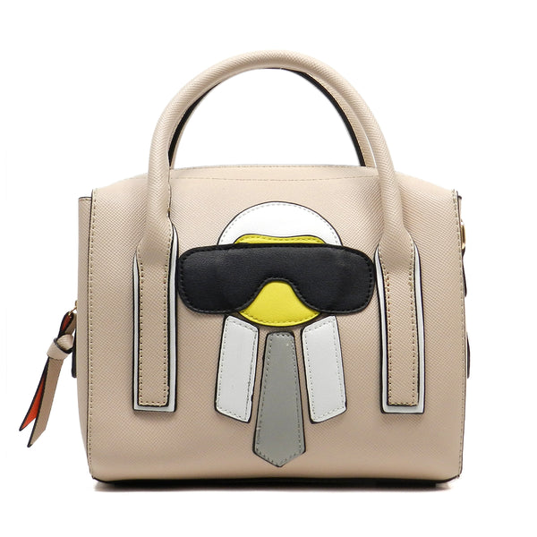 Funny Alien Cute Tote [WE0010-BEIGE]