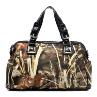 Realtree Camouflage Boston Bag Tote [RT1500683AMAX4-BLACK]