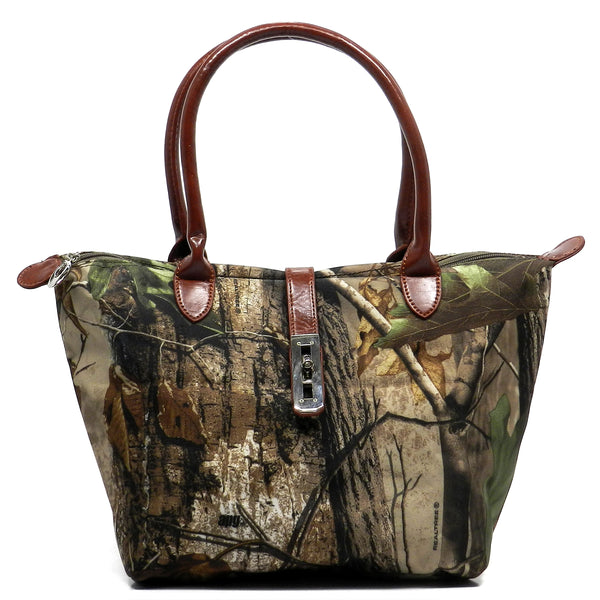 Realtree Camouflage Shopper Tote [RT151939BAPG-BROWN]