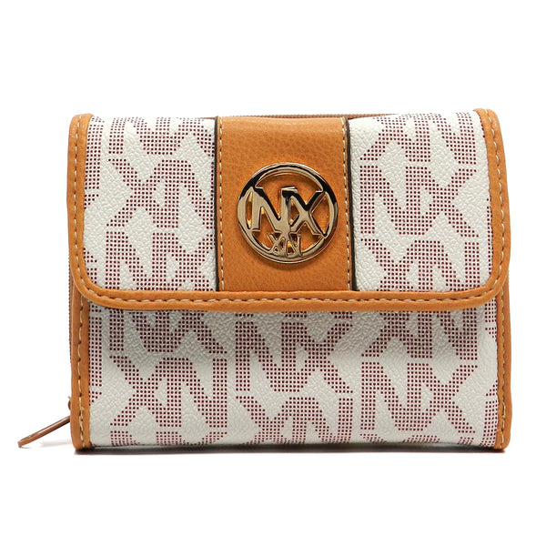 NX Signature Tri-Fold Wallet [SN407-IVORY]
