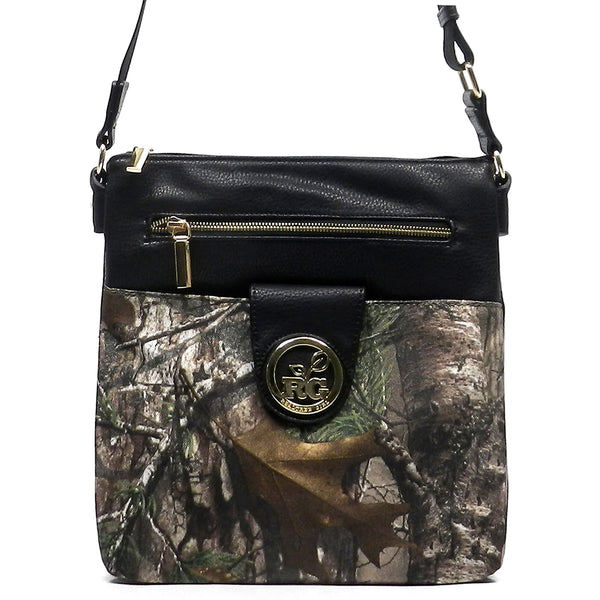 Realtree Girl Cross Body Bag [RG1513035XTRA-BLACK]