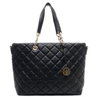 NX Quilted Shopper Tote [LM2564Q-BLACK]