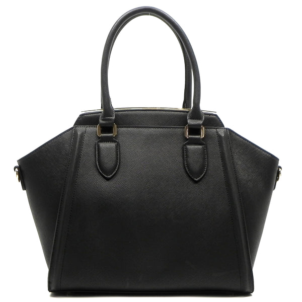 Fashion Top Handle Satchel [JD1120-BLACK]