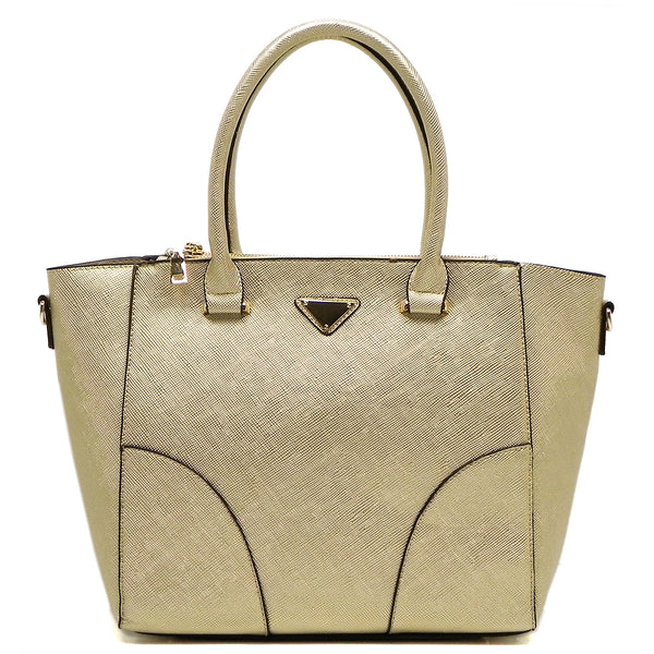 Top Handle Satchel [T1649-GOLD]
