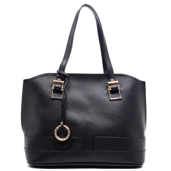 Top Handle 2-in-1 Satchel [K611-BLACK]