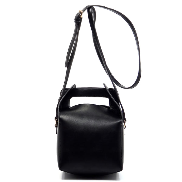 Fashion Bucket Satchel [SPC256-BLACK]