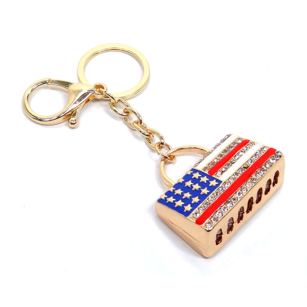 Keychain [KEY82-1109AT-GOLD]