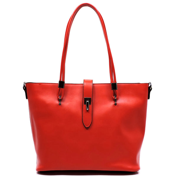 Top Handle 2-in-1 Shopper [766148HK-RED]