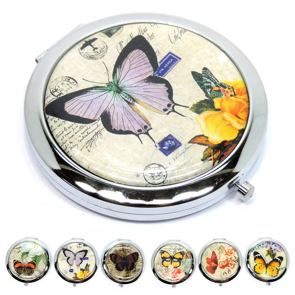 Butterfly Compact Mirror [CM112VM-ASSORTED]