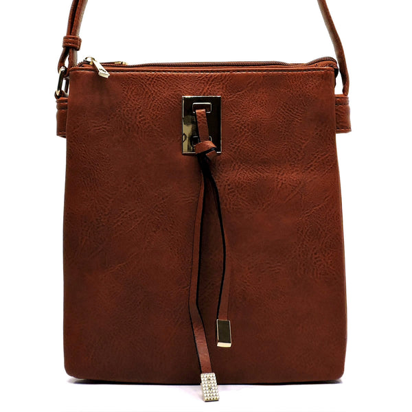 Fashion Crossbody Bag [HY2032-TAN]