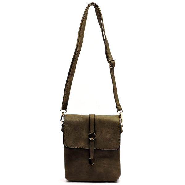 Fashion Crossbody Bag [HF604-KHAKI]