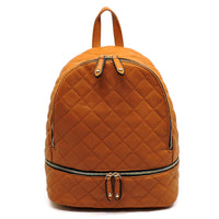 Classic Quilted Backpack [JY0135-CAMEL]