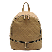 Classic Quilted Backpack [JY0135-STONE]