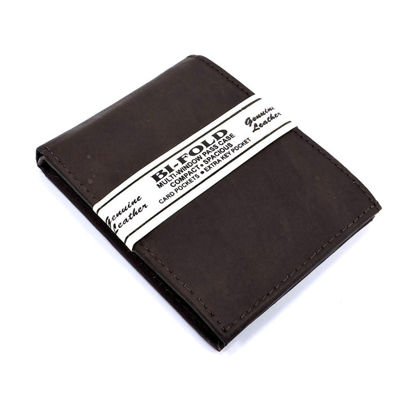 Cowhide Bi-fold Mens Wallet [A120MW BROWN]