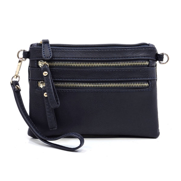 Fashion Clutch & Cross Body Bag [WU001 DEEP SEA]