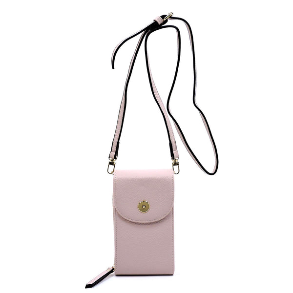 Crossbody Cell Phone Purse Wallet [87393 BLUSH]
