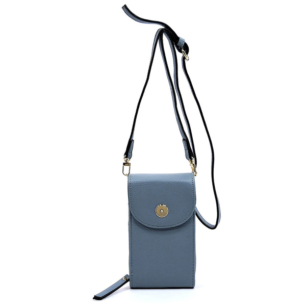 Crossbody Cell Phone Purse Wallet [87393 L/BLUE]