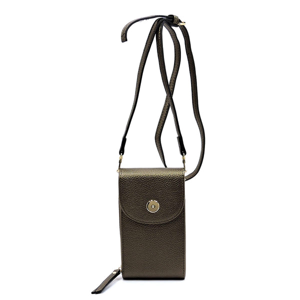 Crossbody Cell Phone Purse Wallet [87393 BRONZE]