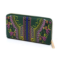 Dashiki Bohemian 2-in-1 Shopper D0428W OLIVE