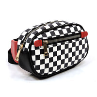 Checker Pattern Fanny Pack Waist Bag H17120983MD RED