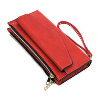Envelope Bi-fold Wallet Wristlet WA15124 RED