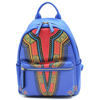 Bohemian Dashiki 2-in-1 Backpack JY0238W BROWN