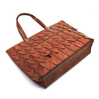 Leaf Layered Shopper LY113 STONE