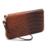 Ostrich Croc 2-in-1 Backpack OS1082W TAN